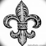 фото Эскизы тату королевская лилия от 24.04.2018 №118 - royal lily tattoo - tatufoto.com