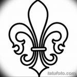 фото Эскизы тату королевская лилия от 24.04.2018 №120 - royal lily tattoo - tatufoto.com