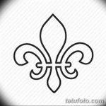 фото Эскизы тату королевская лилия от 24.04.2018 №122 - royal lily tattoo - tatufoto.com