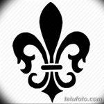 фото Эскизы тату королевская лилия от 24.04.2018 №123 - royal lily tattoo - tatufoto.com