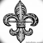 фото Эскизы тату королевская лилия от 24.04.2018 №127 - royal lily tattoo - tatufoto.com