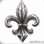 фото Эскизы тату королевская лилия от 24.04.2018 №128 - royal lily tattoo - tatufoto.com
