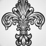 фото Эскизы тату королевская лилия от 24.04.2018 №134 - royal lily tattoo - tatufoto.com