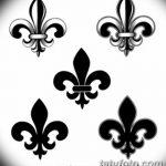фото Эскизы тату королевская лилия от 24.04.2018 №140 - royal lily tattoo - tatufoto.com