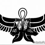 фото Эскиз тату Анкх от 27.04.2018 №003 - Sketches of Ankh tattoo - tatufoto.com