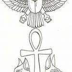 фото Эскиз тату Анкх от 27.04.2018 №004 - Sketches of Ankh tattoo - tatufoto.com