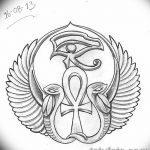 фото Эскиз тату Анкх от 27.04.2018 №006 - Sketches of Ankh tattoo - tatufoto.com