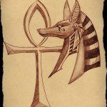 фото Эскиз тату Анкх от 27.04.2018 №010 - Sketches of Ankh tattoo - tatufoto.com