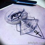 фото Эскиз тату Анкх от 27.04.2018 №011 - Sketches of Ankh tattoo - tatufoto.com