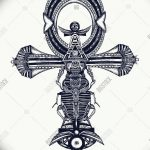 фото Эскиз тату Анкх от 27.04.2018 №012 - Sketches of Ankh tattoo - tatufoto.com