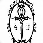 фото Эскиз тату Анкх от 27.04.2018 №025 - Sketches of Ankh tattoo - tatufoto.com