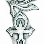 фото Эскиз тату Анкх от 27.04.2018 №030 - Sketches of Ankh tattoo - tatufoto.com