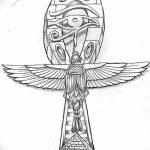 фото Эскиз тату Анкх от 27.04.2018 №036 - Sketches of Ankh tattoo - tatufoto.com