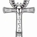 фото Эскиз тату Анкх от 27.04.2018 №041 - Sketches of Ankh tattoo - tatufoto.com