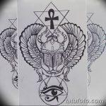 фото Эскиз тату Анкх от 27.04.2018 №042 - Sketches of Ankh tattoo - tatufoto.com