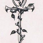 фото Эскиз тату Анкх от 27.04.2018 №043 - Sketches of Ankh tattoo - tatufoto.com