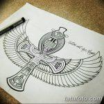 фото Эскиз тату Анкх от 27.04.2018 №045 - Sketches of Ankh tattoo - tatufoto.com