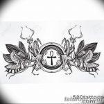 фото Эскиз тату Анкх от 27.04.2018 №055 - Sketches of Ankh tattoo - tatufoto.com