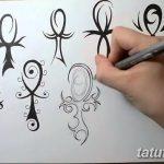 фото Эскиз тату Анкх от 27.04.2018 №058 - Sketches of Ankh tattoo - tatufoto.com