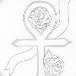 фото Эскиз тату Анкх от 27.04.2018 №059 - Sketches of Ankh tattoo - tatufoto.com