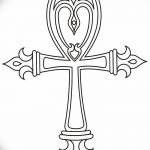 фото Эскиз тату Анкх от 27.04.2018 №061 - Sketches of Ankh tattoo - tatufoto.com