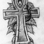 фото Эскиз тату Анкх от 27.04.2018 №068 - Sketches of Ankh tattoo - tatufoto.com