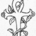 фото Эскиз тату Анкх от 27.04.2018 №074 - Sketches of Ankh tattoo - tatufoto.com