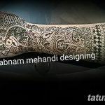 фото мехенди рукав от 24.04.2018 №009 - mehendi sleeve - tatufoto.com