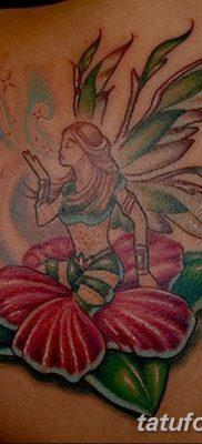 фото тату Гибискус от 20.04.2018 №037 – tattoo Hibiscus – tatufoto.com