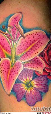 фото тату Гибискус от 20.04.2018 №044 – tattoo Hibiscus – tatufoto.com