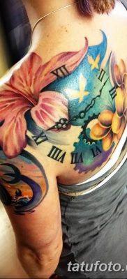 фото тату Гибискус от 20.04.2018 №058 – tattoo Hibiscus – tatufoto.com