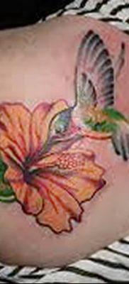 фото тату Гибискус от 20.04.2018 №088 – tattoo Hibiscus – tatufoto.com