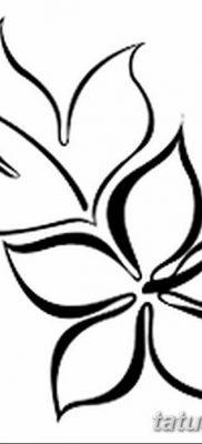 фото тату Гибискус от 20.04.2018 №091 – tattoo Hibiscus – tatufoto.com