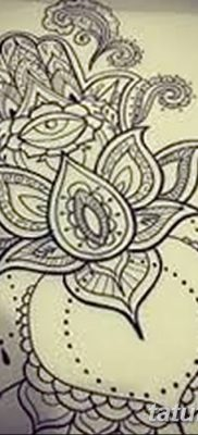 фото тату Рука Фатимы от 24.04.2018 №025 – tattoo Hand of Fatima (hamsa) – tatufoto.com
