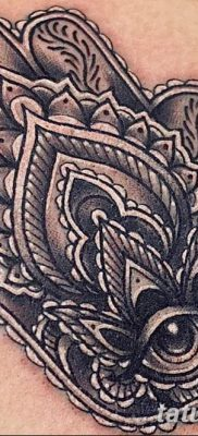 фото тату Рука Фатимы от 24.04.2018 №056 – tattoo Hand of Fatima (hamsa) – tatufoto.com