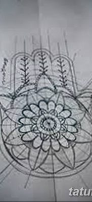 фото тату Рука Фатимы от 24.04.2018 №066 – tattoo Hand of Fatima (hamsa) – tatufoto.com