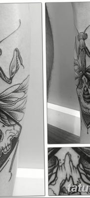 фото тату богомол от 20.04.2018 №001 – mantis tattoo – tatufoto.com
