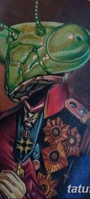 фото тату богомол от 20.04.2018 №013 – mantis tattoo – tatufoto.com