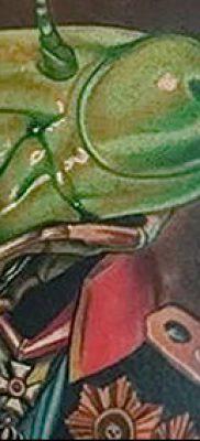 фото тату богомол от 20.04.2018 №015 – mantis tattoo – tatufoto.com
