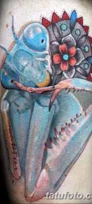 фото тату богомол от 20.04.2018 №032 – mantis tattoo – tatufoto.com