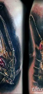 фото тату богомол от 20.04.2018 №045 – mantis tattoo – tatufoto.com