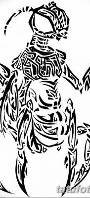 фото тату богомол от 20.04.2018 №064 – mantis tattoo – tatufoto.com