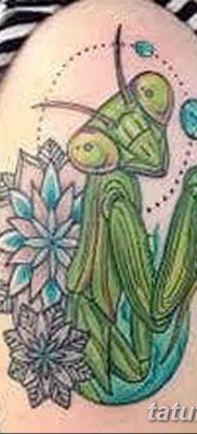 фото тату богомол от 20.04.2018 №081 – mantis tattoo – tatufoto.com