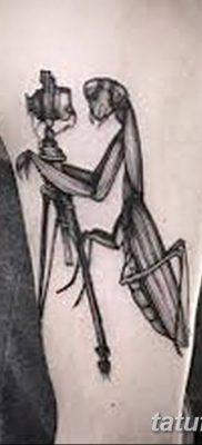 фото тату богомол от 20.04.2018 №082 – mantis tattoo – tatufoto.com