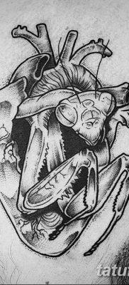 фото тату богомол от 20.04.2018 №090 – mantis tattoo – tatufoto.com