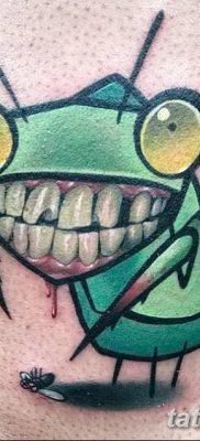 фото тату богомол от 20.04.2018 №097 – mantis tattoo – tatufoto.com
