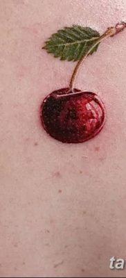 фото тату вишенки от 21.04.2018 №001 – cherry tattoos – tatufoto.com