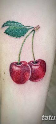 фото тату вишенки от 21.04.2018 №126 – cherry tattoos – tatufoto.com
