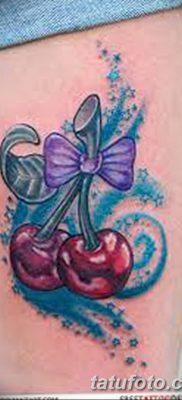 фото тату вишенки от 21.04.2018 №148 – cherry tattoos – tatufoto.com