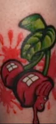 фото тату вишенки от 21.04.2018 №155 – cherry tattoos – tatufoto.com